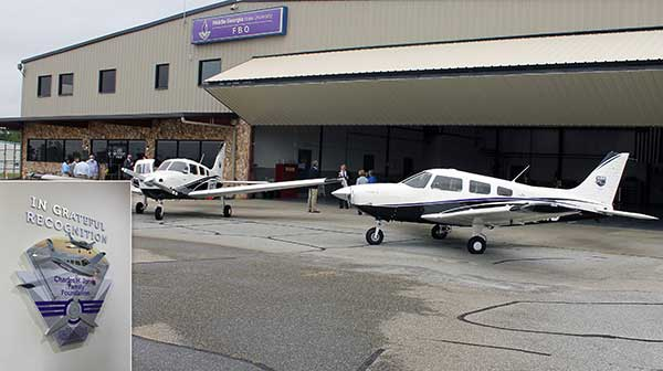 MGA Dedicates Two New Airplanes Funded Through Jones Family Foundation