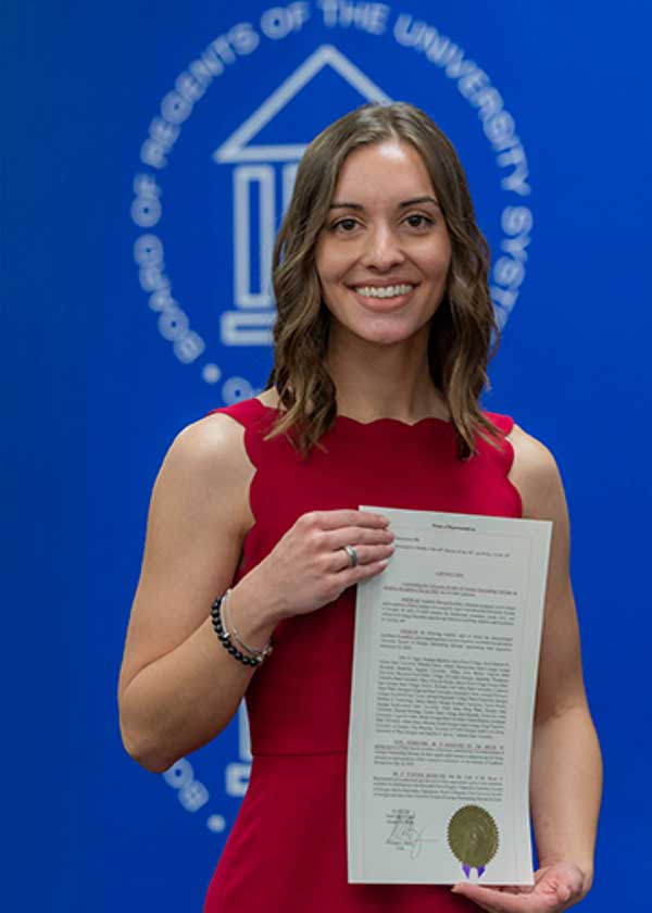 English Major Logan Gibbs Named MGA's 2020 Academic Recognition Day ...