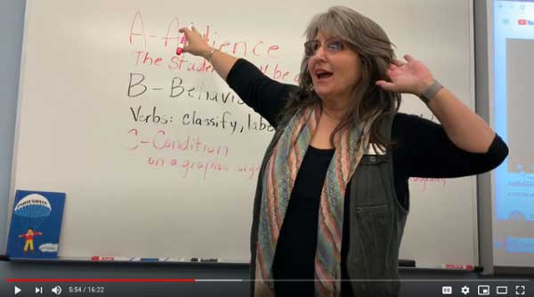 Teaching In The Time of COVID: MGA Education Professor Uses Her Tech S...